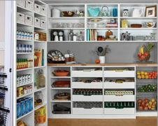 "Banish ""There's Nothing To Eat"" Syndrome With Storage Tips For An Organized Pantry"