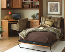 Discover More Space In Crowded Rooms With A Custom Murphy Bed