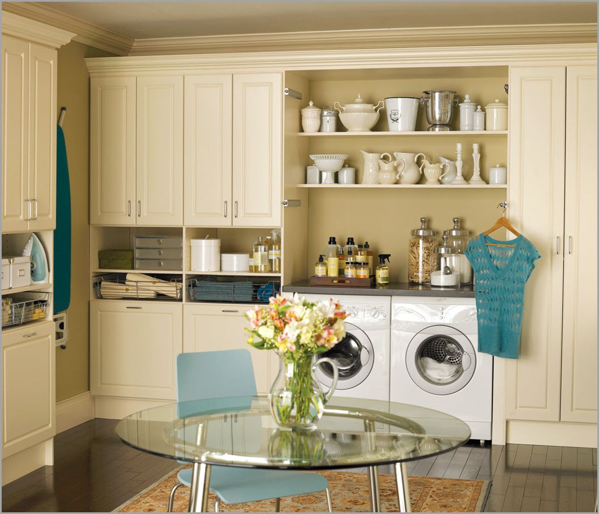 Clutter Free Living in Laundry Room