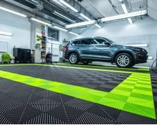 Garage Flooring Doesn't Have To Be Boring
