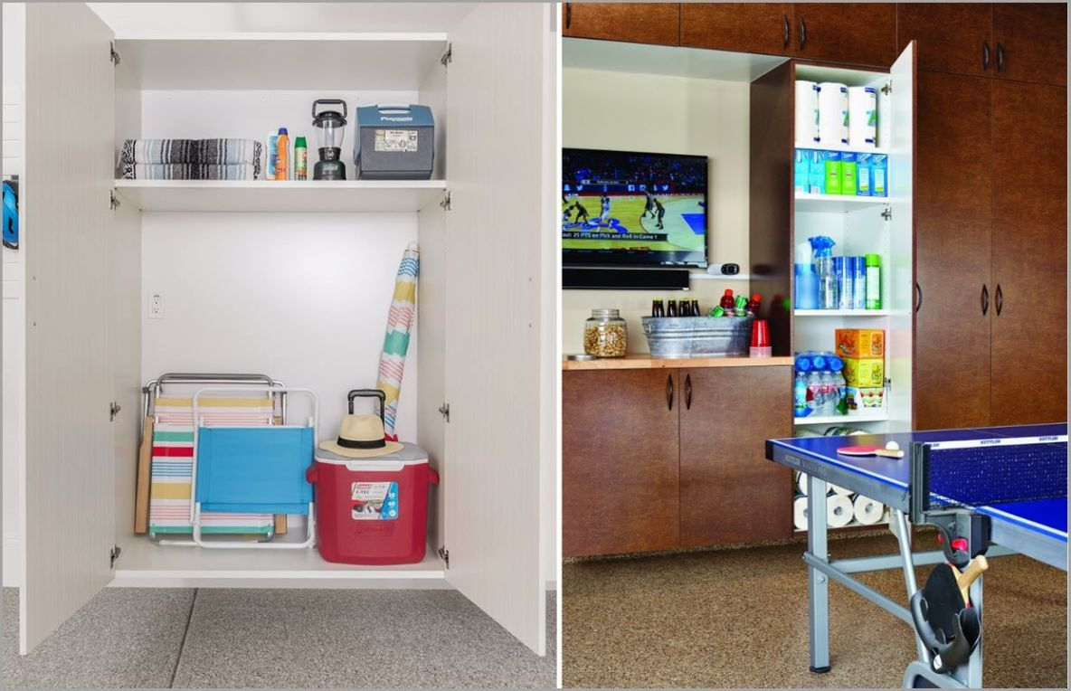 Cabinet Storage and Adjustable Shelves