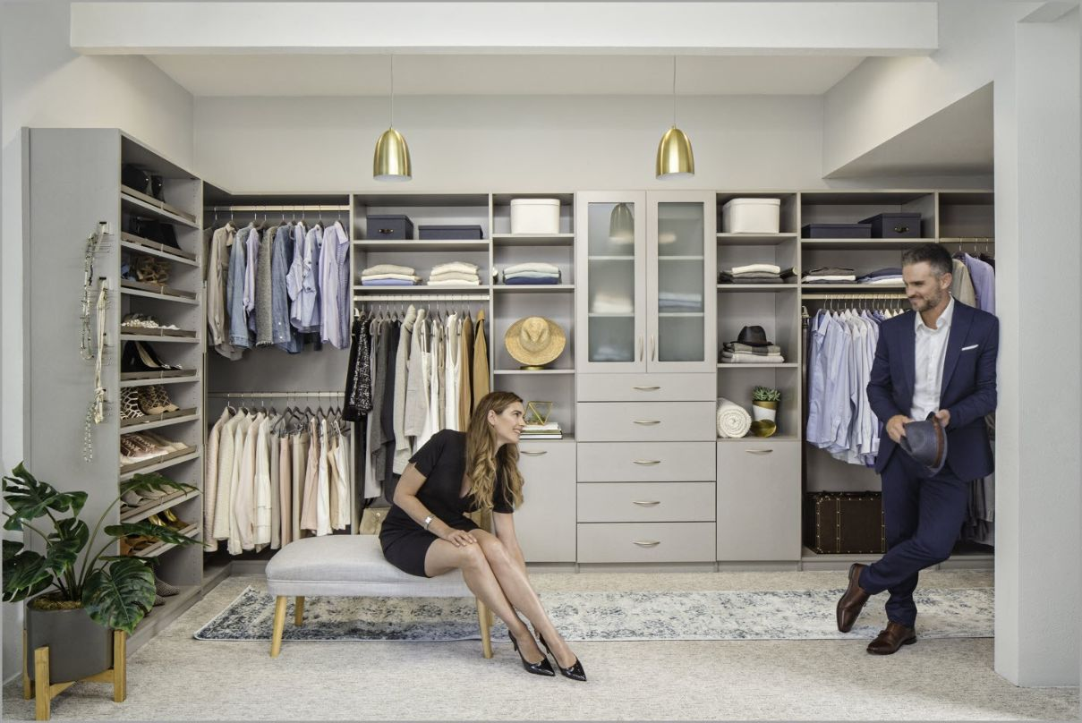 Shared Closet for Two
