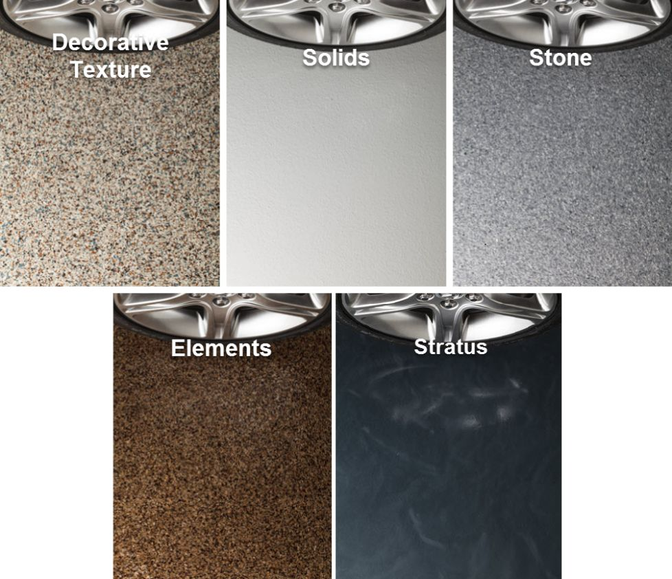 Garage Floor Color Choices