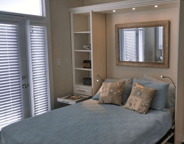 Maximize Summer Comfort with a Murphy Bed   Tailored Living