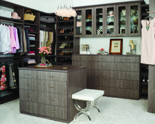 Maximize Your Walk-In Closet With A Custom Storage Island