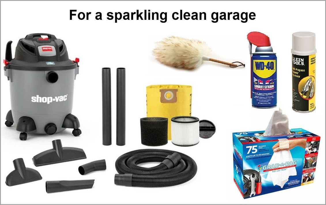 Garage Cleaning Products
