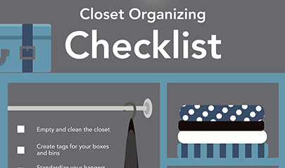 Step by Step Checklist to Clean and Organize Your Closet