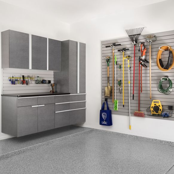 pewter garage storage
