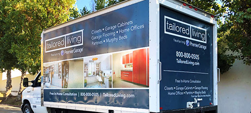 tailored living premiergarage van