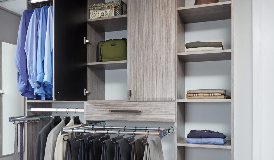 grey his walk-in closet