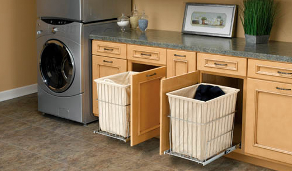 laundry room storage hamper drawers