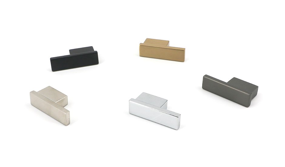 hardware rectangle knobs