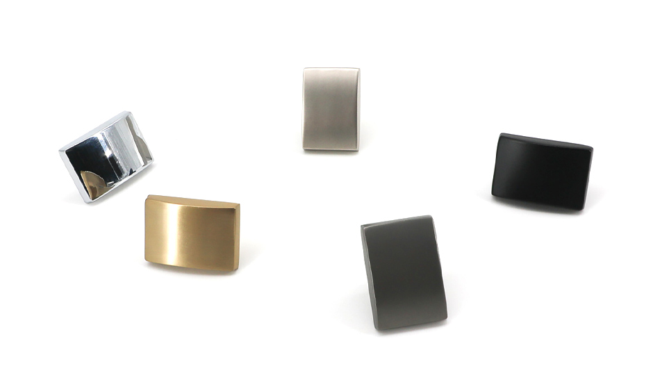 hardware square rectangular knobs
