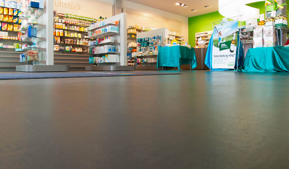 commercial flooring healthcare