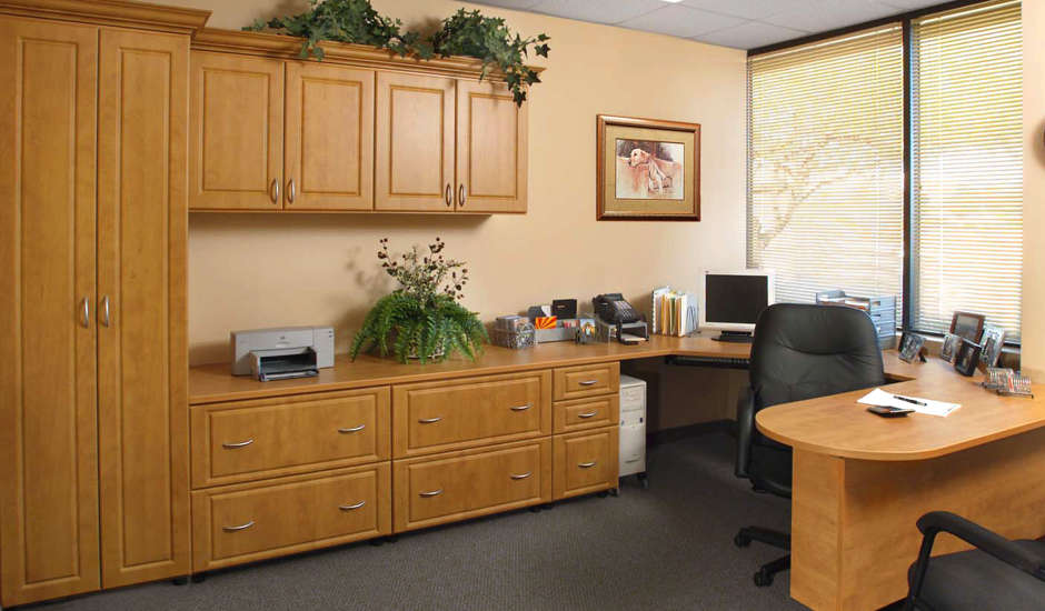 commercial cabinetry office