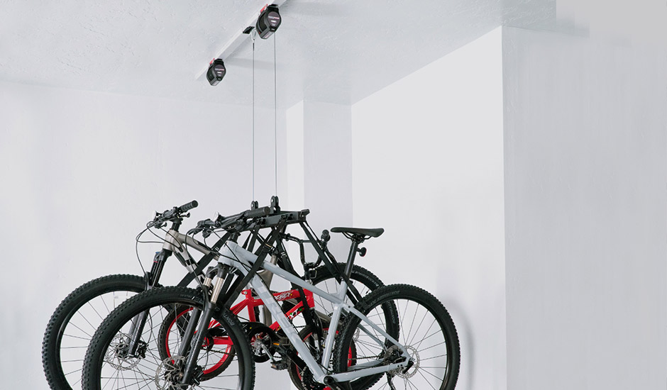 automated garage multi-bike lifter